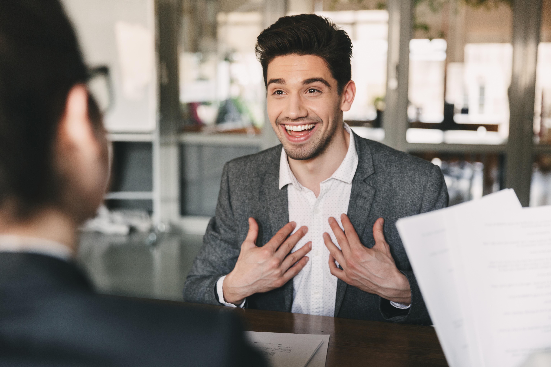 happy interview