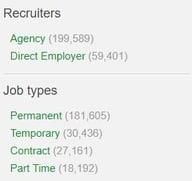 recruitment agencies on total jobs 2