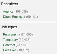 recruitment agencies on total jobs 2